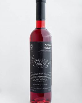 Čierna ríbezľa 2018 sladké (0,5l)