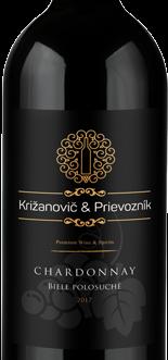 Križanovič & Prievozník Chardonnay 2018 suché