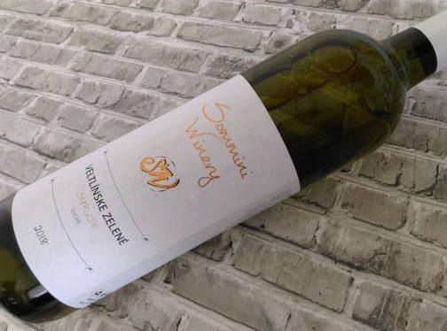 Sommini Winery - Veltlínske zelené 2018 surlie