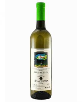 Vína z mlyna - Veltlínske zelené 2018 polosuché