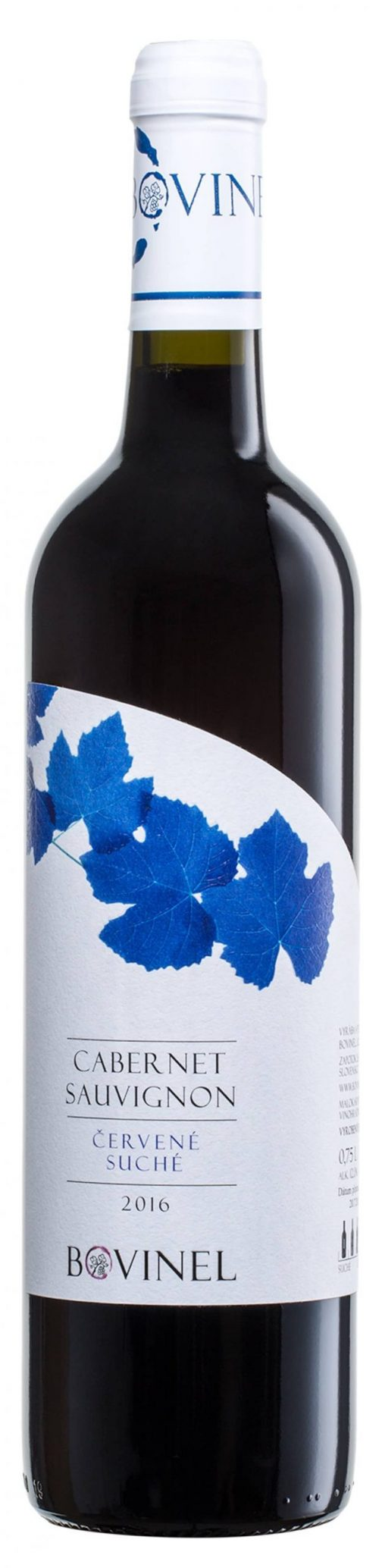 Víno Bovinel - Cabernet Savignon 2016 suché
