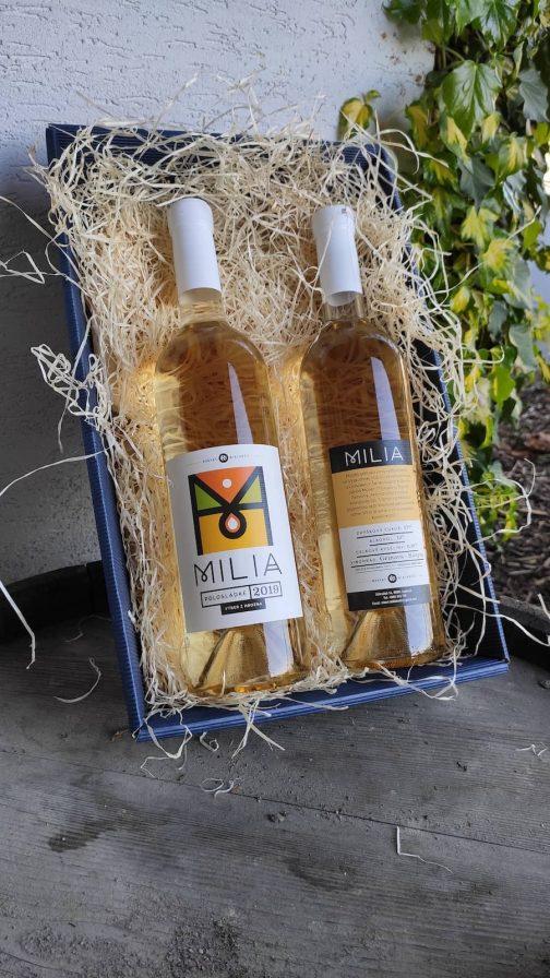 Víno Miklenčič - Milia 2019 polosladké