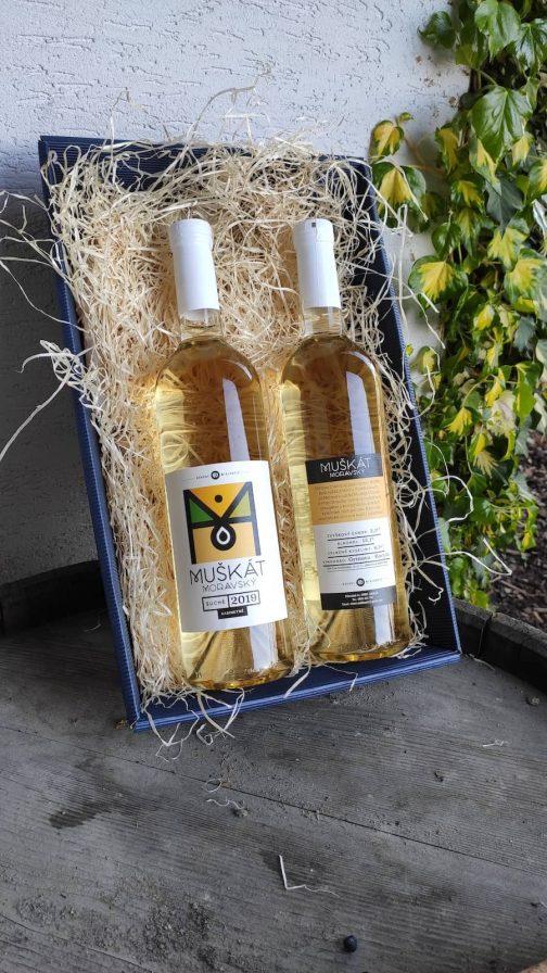 Víno Miklenčič - Muškát moravský 2019 suché