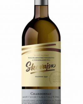 Víno Skovajsa - Chardonnay 2018 suché
