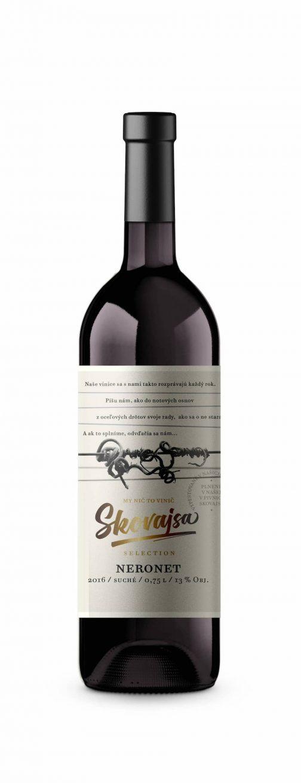 Víno Skovajsa - Neronet 2016 suché
